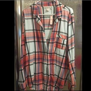 Victoria secret button up